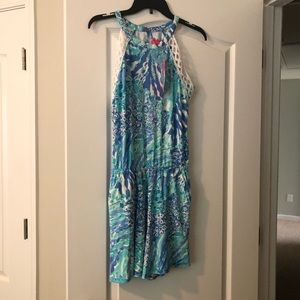 Lilly Pulitzer Lala Romper NWT Small
